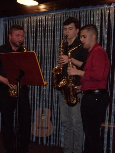 ZUŠTOUR 2019 - saxofonové trio